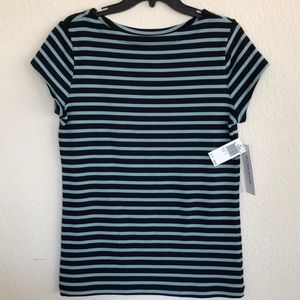Last call ❗️NWT workshop striped women's top large